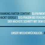 E-Commerce Rückblick: Blogmarks 40/16