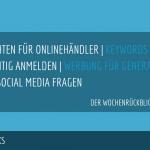 E-Commerce Rückblick: Blogmarks 04/17