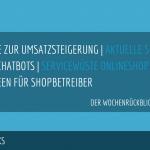 E-Commerce Rückblick: Blogmarks 06/17