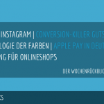 E-Commerce Rückblick: Blogmarks 09/17