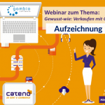 Webinar-Aufzeichnung Gambio & cateno