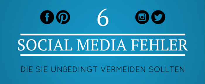 Social Media Fehler