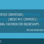 E-Commerce Rückblick: Blogmarks 05/17