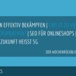 E-Commerce Rückblick: Blogmarks 08/17