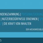 E-Commerce Rückblick: Blogmarks 16/17