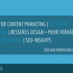 E-Commerce Rückblick: Blogmarks 17/17