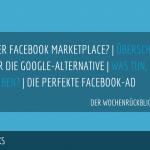 E-Commerce Rückblick: Blogmarks 25/17