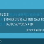 E-Commerce Rückblick: Blogmarks 28/17