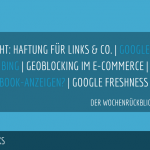 E-Commerce Rückblick: Blogmarks 29/17