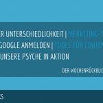 E-Commerce Rückblick: Blogmarks 30/17