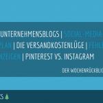 E-Commerce Rückblick: Blogmarks 32/17