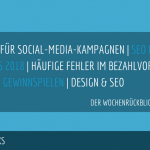 E-Commerce Rückblick: Blogmarks 01/18