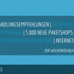 E-Commerce Rückblick: Blogmarks 05/18