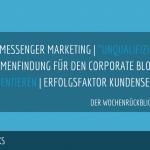 E-Commerce Rückblick: Blogmarks 06/18