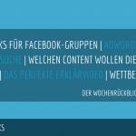 E-Commerce Rückblick: Blogmarks 08/18
