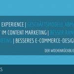 E-Commerce Rückblick: Blogmarks 10/18