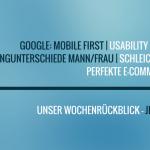 E-Commerce Rückblick: Blogmarks 34/16