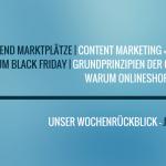 E-Commerce Rückblick: Blogmarks 36/16