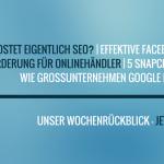 E-Commerce Rückblick: Blogmarks 21/16