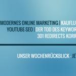 E-Commerce Rückblick: Blogmarks 25/16
