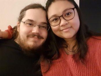 Kevin mit seiner Frau Erica