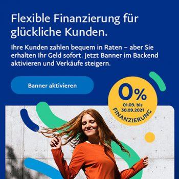 Flexible Finanzierung mit PayPal