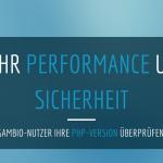 PHP-Version im Gambio-Shop überprüfen